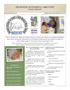 NICU info for Parents cover