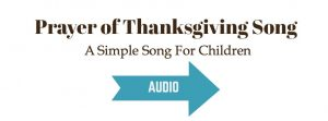Prayer of Thanksgiving Song audio sample