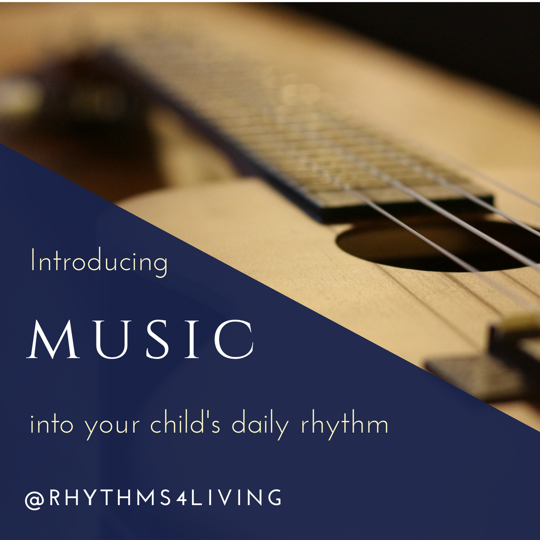 introducing music childs rhythm